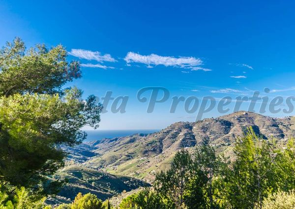 Country Property in Cómpeta, Inland Andalucia in the mountains