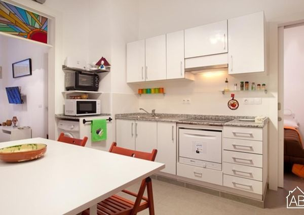 Lovely three bedroom apartment in Barcelona for rent
