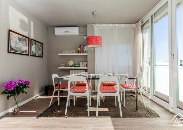 Spacious and stylish two bedroom apartment in Barceloneta