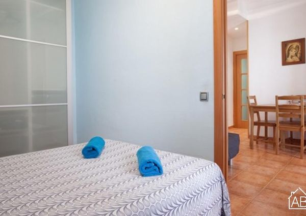 Lovely apartment with a balcony in La Barceloneta
