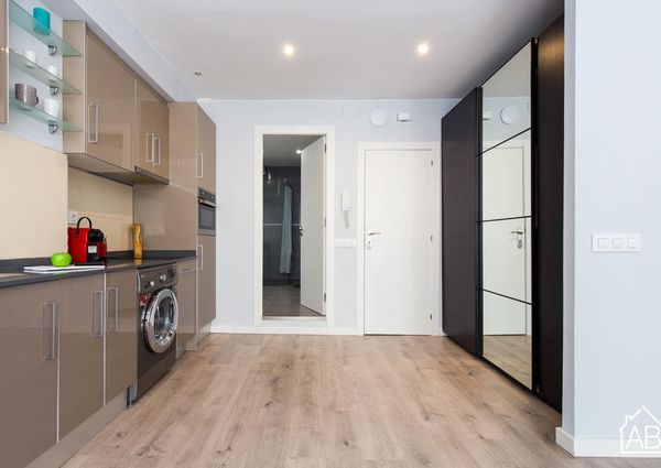 Modern two-bedroom apartment in the heart of quirky Poblenou neighbourhood