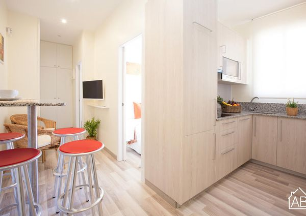 Two bedroom apartment in the beach area of Barceloneta