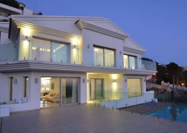 Spectacular new villa in Altea Hills for rent