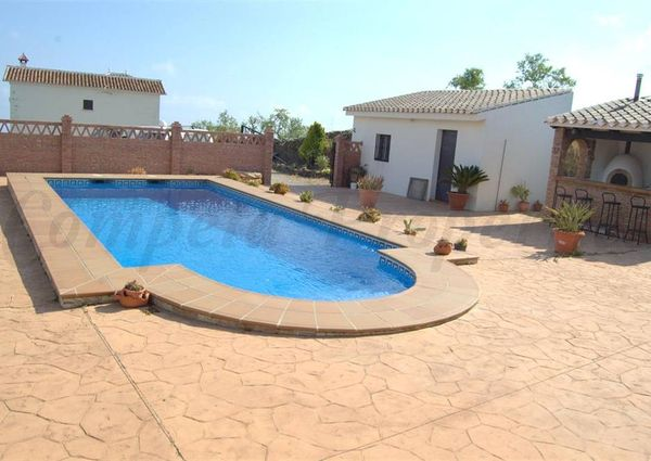 Country Property in Torrox, Andalucia, Natural Park of the Sierras Tejeda and Almijara