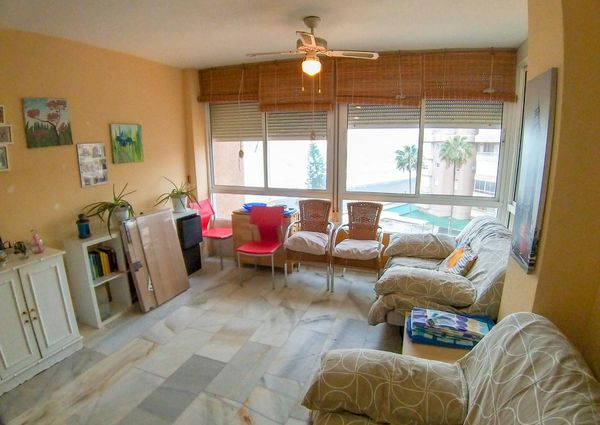 Apartment For Long Term Rent In Torrox Costa, 1 Bedroom With Sea Views