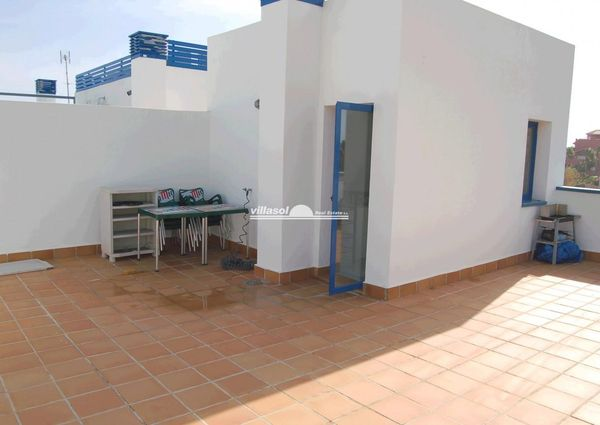 penthouse for rent on the beach in Torrox
