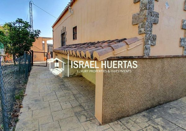 Country house for long term rental in Torrox, spectacular sea and mountain views