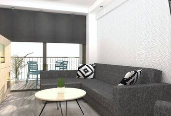 Apartment in Benidorm, second line from the beach for rent