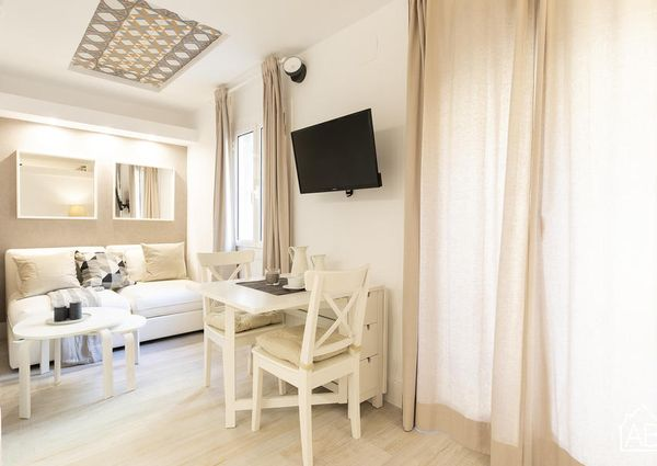 Lovely One-Bedroom Apartment With Balcony Just Two Minutes from Beach