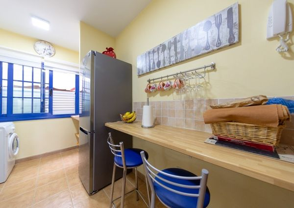Apartment for rent with large terrace in Llano del Camello.