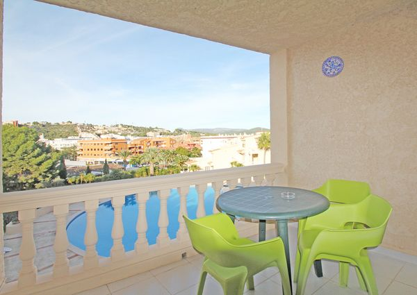 Comfortable apartment in the residence with pool in Santa Ponsa