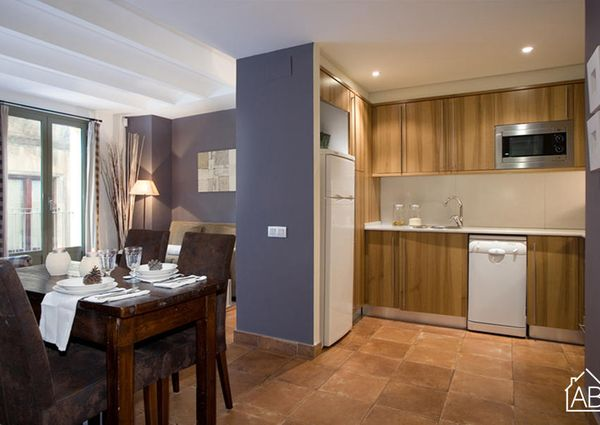 Recently refurbished one bedroom apartment next to Port Vell