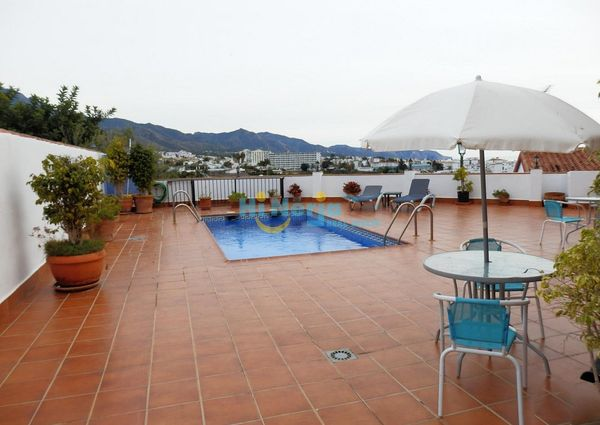 2 Bedroom Villa Pool Gardens Terraces Exotic Nerja
