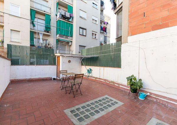 2 bedrooms private terrace Eixample
