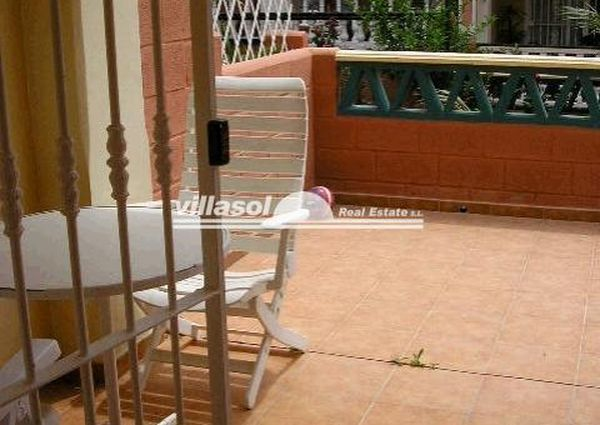 Central apartment in Nerja on ground floor. For long term rental