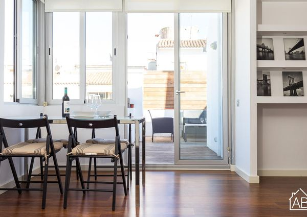 Renovated apartment with private terrace in Sarrià Sant-Gervasi