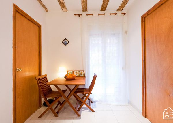 Lovely beach apartment in Barceloneta for rent