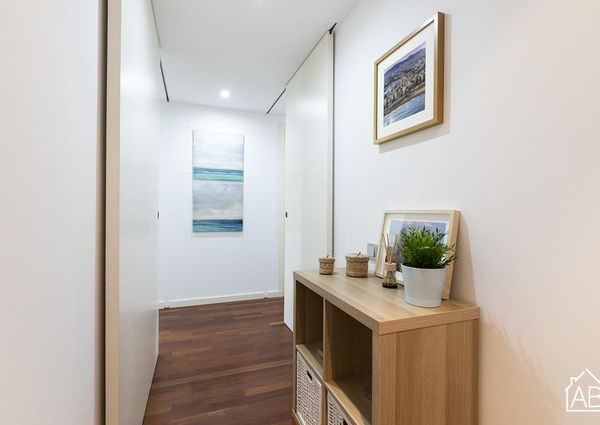 Homely apartment in Barceloneta