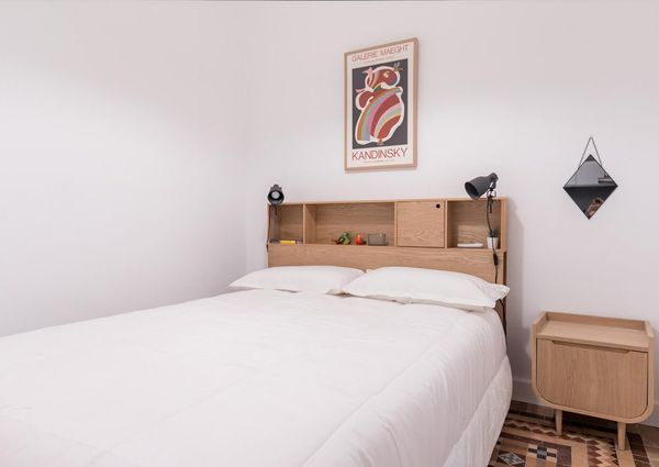 2 doble bedrooms in carrer Elkano Poble sec