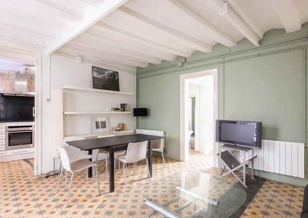 1 double bedrooms flat close to Santa Maria del mar