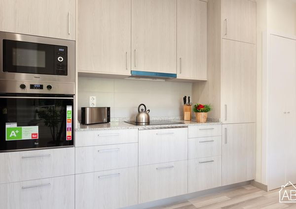 Modern and chic apartment in Barceloneta 4 minutes from the beach