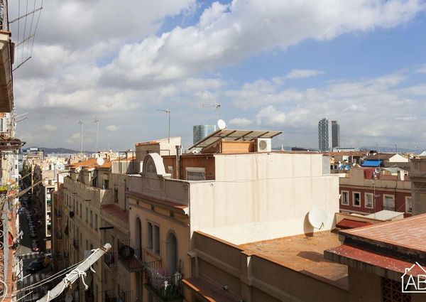2 bedroom apartment for rent in the Barceloneta area