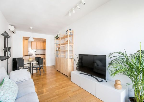Bright and comfortable 3 bedroom in Poble sec