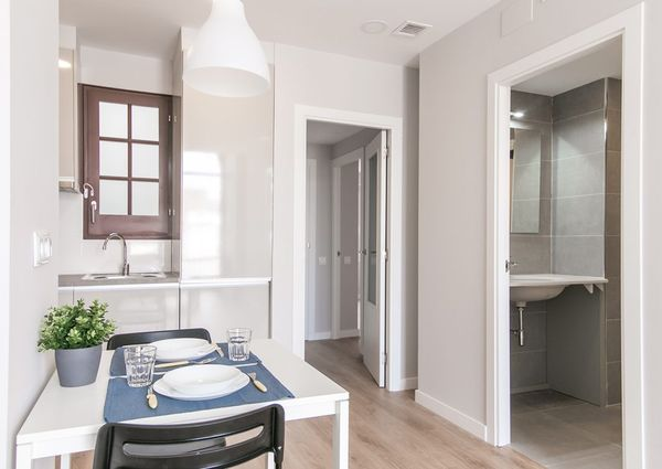Attic with private terrace 2 bedrooms Sants