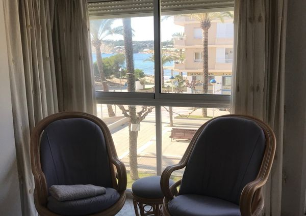 Sea view apartment with parking space