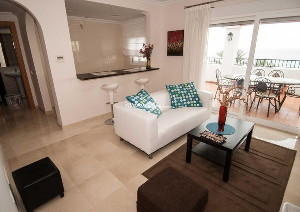 Atico - Penthouse for rent in Torrox Costa, Torrox, Málaga, Spain