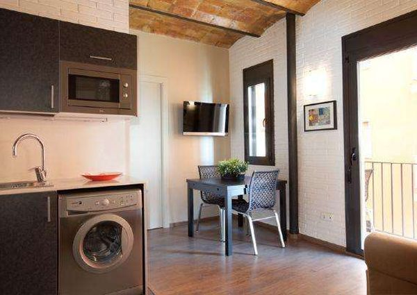 Fantastic, two-bedroom beach apartment in Barcelona