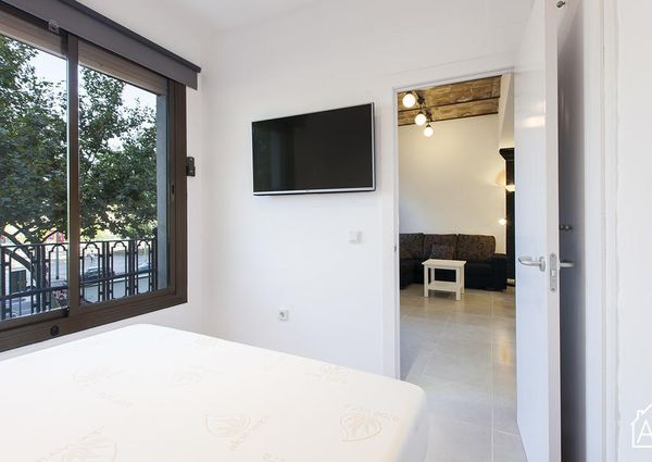 Two bedroom Barceloneta apartment with many amenities