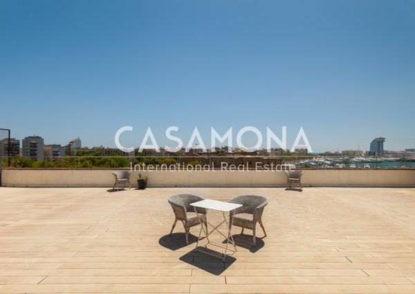 Luxurious 2 Bedroom Apartment with a View over Port Vell