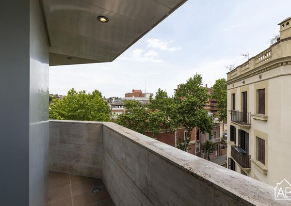 Trendy and Charming One-Bedroom Apartment with Terrace in Sarrià-Sant Gervasi
