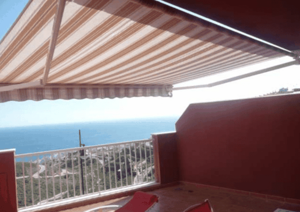 Great house for long term rental in Torrox Costa, El Peñoncillo, 4 bedrooms and spectacular sea views