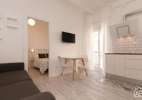Homely and Cosy One Bedroom Apartment in Heart of Barceloneta Neighbourhood