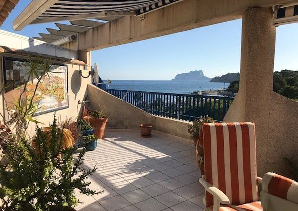 Penthouse in Moraira... with great views