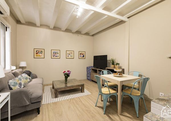 Beautiful Two-Bedroom Mini House in the Heart of the Barceloneta Neighbourhood