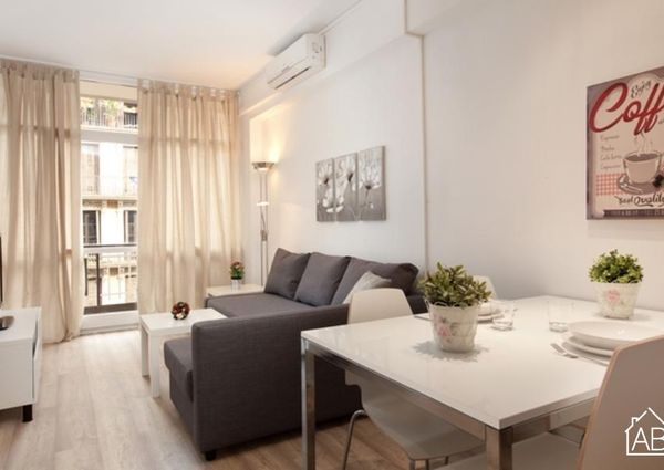 Stylish apartment in the exciting Eixample neighborhood