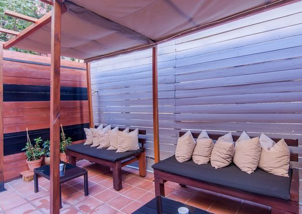 Ad- Flat for rent private terrace 2 double bedrooms