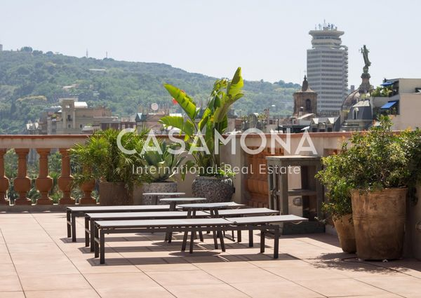 Luxurious 2 Bedroom Aparment with a View over Port Vell