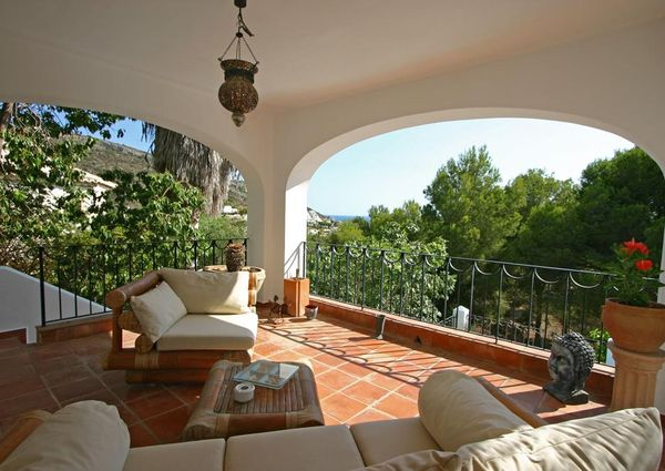 Bambu LT Villa in Moraira, Costa Blanca, Spain