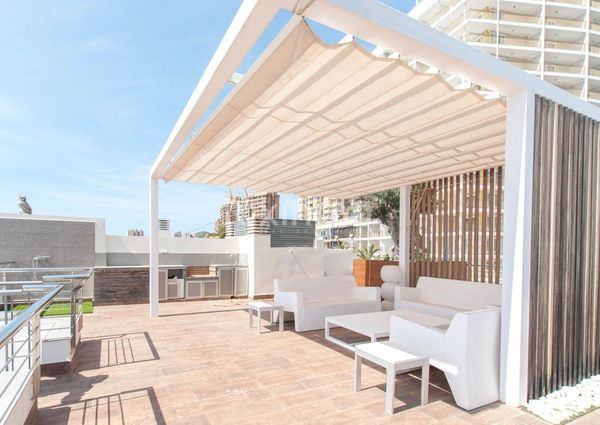 Luxury Penthouse with sea views in Benidorm