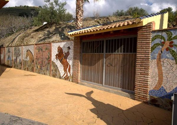 Country Property in Sedella, Inland Andalucia in the mountains